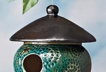 Ceramics: Bird Houses