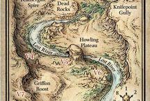 mapas e masmorras