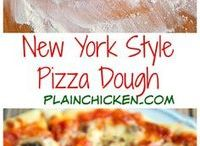 Pizza and dough