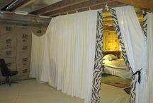 Austins basement room