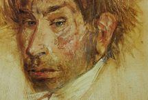 Zelfportret / Schilderkunst  Beeldhouwen  Tekenen Kunst Art