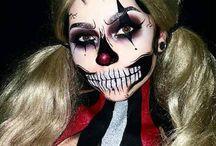 Halloween smink
