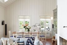 Ticking stripe furniture