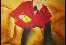 GSPaintings / Oil on canvas paintings, by Geard Solà