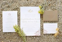 Bride of the Month / Featuring weddings that we make invitations for.