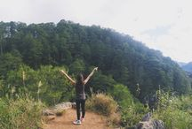 SAGADA / Trekking and hiking at Sagada, Philippines.