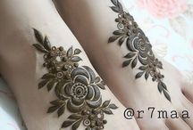Awesome henna for legs..