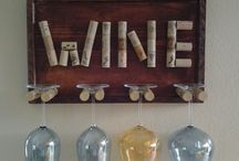 Wine crafts !! / by Viviana Mendez