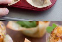 Recipes - party snacks