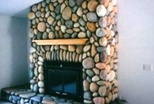 """River Rock DIY You Make at Home / DIY River Rock veneer for home improvement projects with concrete stone you make at home.  You are  limited only by your desire and imagination. We have everything needed to enable you to make stone for pennies a square foot... right at home, in a garage, basement, barn or shed. You too can be a """"Rock"""" Star.  / by Olde World Stone & Tile Molds, Inc."""
