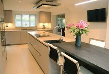 The Cashmere Touch / Modern design and fantastic functionality came together to create the perfect family kitchen.