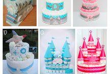 Gâteaux de langes