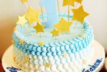 first birthday party star boy