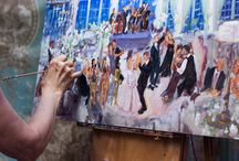 Live Painter at your wedding!