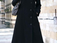 lovely coat for muslimah