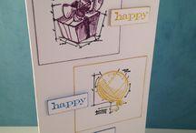 Tim Holtz Mini blueprint stamps