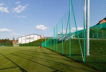 Arłamów Arena / Wyposażenie sportowe, piłkochwyty, bramki do piłki nożnej, trybuny