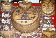 WESTERN AND RODEO CAKES / Western cakes with cowboy, cowgirl and rodeo themes.