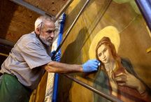 Painting conservation