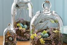 It's Only Natural / Nature inspired interior decor, tablescapes, nature vignettes, miniature gardening, terrariums
