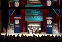 Tea Party Freedom Summit 2015 / EVENTEQ provided set design and production for Decibel Management for the Tea Party Patriots Freedom Summit in South Carolina