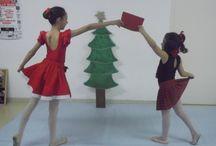 Feliz Navidad!! / Las bailarinas también celebran la Navidad!!