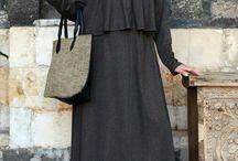 Jersey melange dress