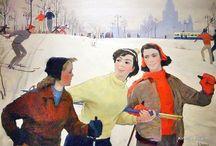 Soviet illustrators