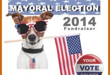 2014 Canine Mayoral Race / The 2014 PAWS of Coronado Canine Mayoral Race is on! Follow your favorite Caninedates and see who will win the Mayor seat. / by PAWS of Coronado