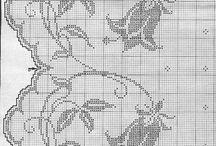Hæklet gardiner