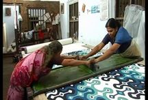 Hands On / The physical, tactile work of artists and craftspeople doing it wherever they do it