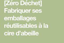 EMBALLAGE CIRE D'ABEILLE