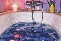 color baths