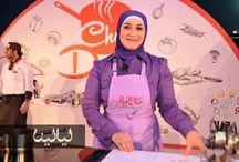 منال العالم بمهرجان دبي للمأكولات