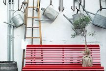 Garden Coffee / live moodboard for garden furniture project