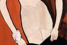 1960s fashion illustration / 0