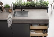 Kitchen Islands / Kitchen islands come in many shapes and sizes but, be it with seating, sinks or storage, there's a key component to contemporary kitchen design. Here are some of our favourites.