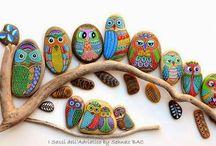 painted rocks-stenen