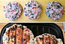 Platos con pollo