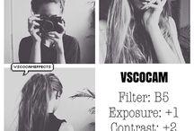 VSCO Cam Settings