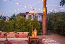 Moroccan Inspired Spaces