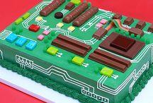 Gâteau ordinateur
