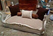 dog wood beds
