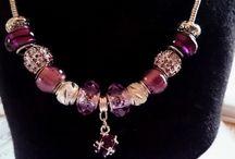 créations de coco / Mes créations faites avec des perles de type pandora et autres !!!
