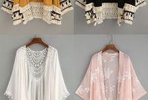 Chaquetas y Kimonos