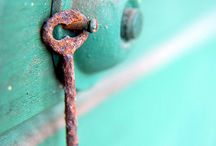 Things I love . . . SKELETON KEYS / . . . another tiny obsession . . .  / by Heather Beck