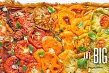 tarts [savory], pizza, sammies, and flatbreads. / by Laura Wagner