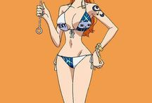One piece love Luffy X Nami