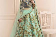 Designer Lehenga Choli / Collection of awesome lehenga cholis for bridal wear and wedding functions.  Shop online at www.styleamaze.com, whatsapp order: +91-8780775182