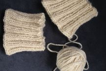 Knitted Boot Cuffs & Fingerless Gloves / Patterns that have me itching to dig into my yarn stash and pick up my needles!